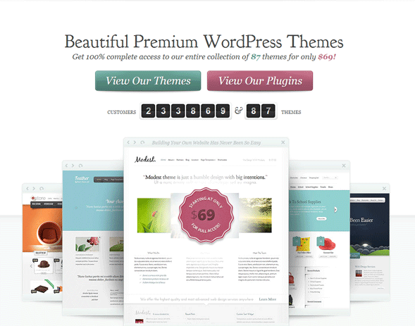 шаблоны для WordPress Elegant Themes