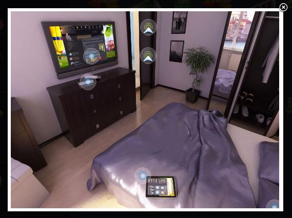 Интерактивная 3D-модель помещения